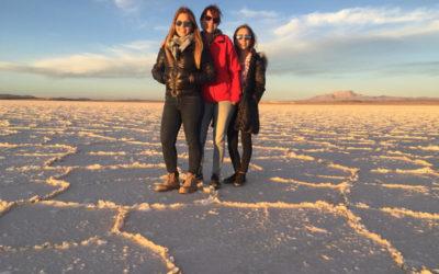 Meine Gasttöchter in Bolivien