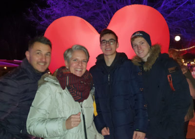 Familie Plate und Joao