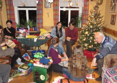 Mit der Gastfamilie Weihnachten feiern