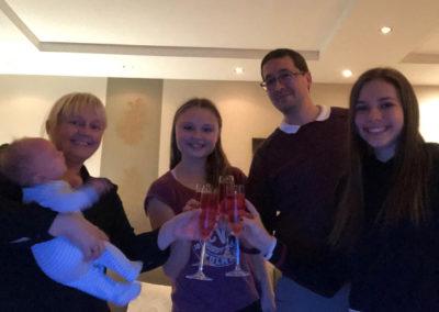 Weihnachten mit der Gastfamilie